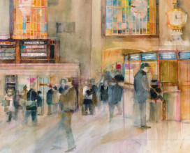 "GRAND CENTRAL STATION  (SOLD)- 18"" x 24"""