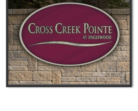 SIGNAGE - CROSS CREEK POINTE