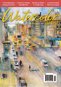 watercolor artist mag