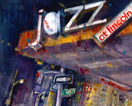 "JAZZ AT LINCOLN CENTER- 7"" x 9"""