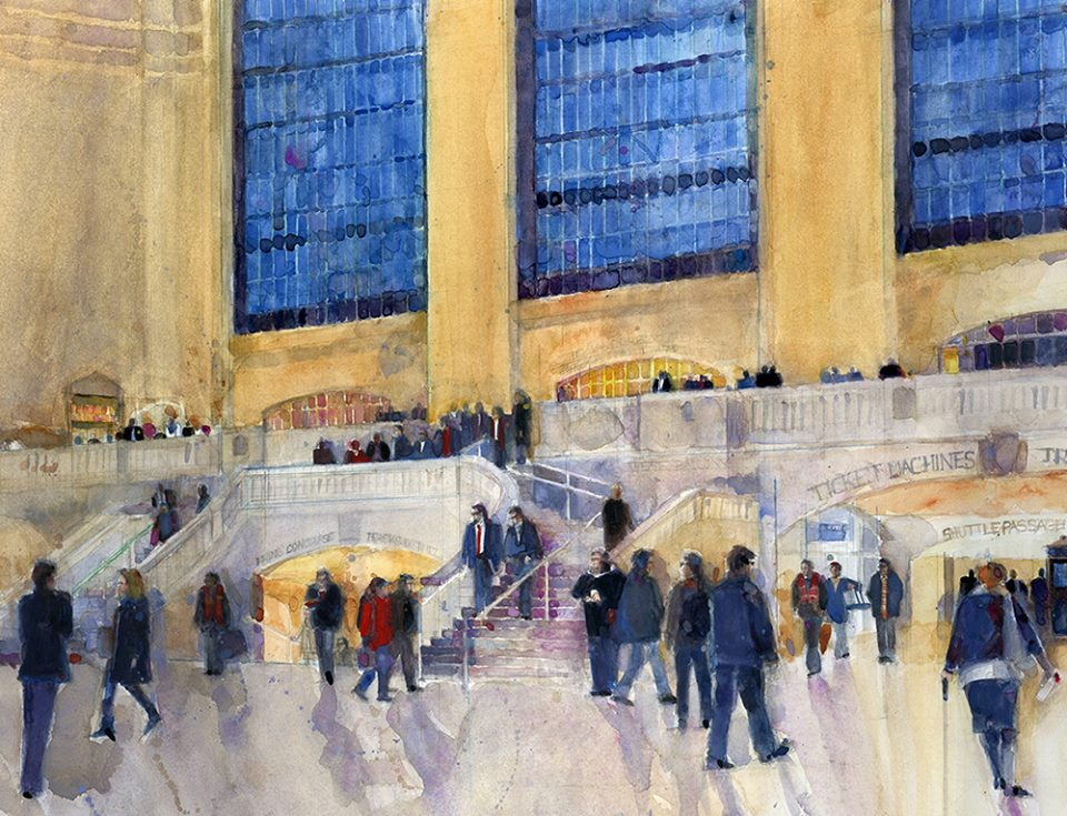 Rush Hour - Grand Central Station 20 x 24