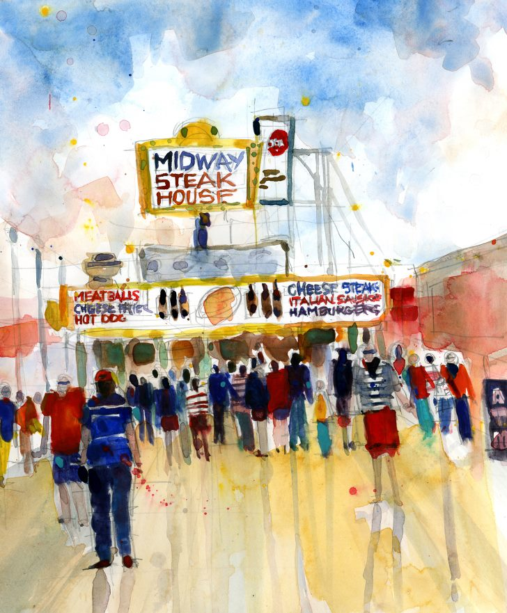 Midway Steaks - Seaside Heights